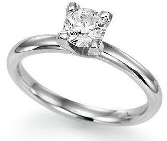 Особенно выгодно смотрятся бриллианты в обрамлении белого золота