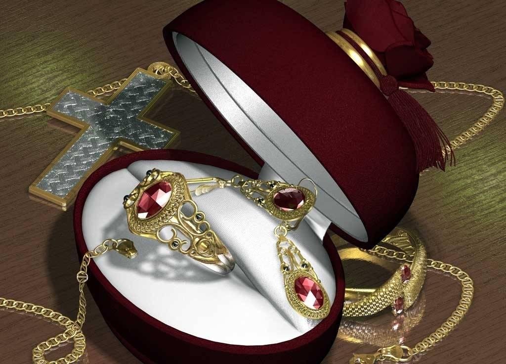 Каждое золотое изделия маркируется в соответствии международных норм