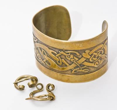 Украшения древнего Рима из чистого сплава золота