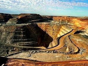 Карьер, где добывают драгоценные металлы