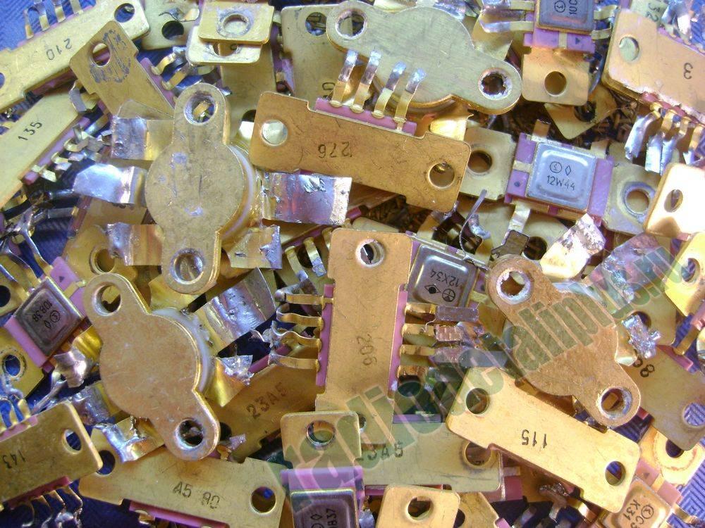Радиодетали содержат драгоценные сплавы, за которыми охотятся рьяные добытчики