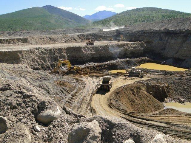 Добыча на крупнейшем коренном месторождении драгоценного металла