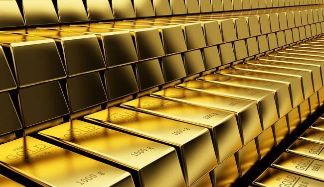 Золотой резерв стран содержится вот в таких слитках