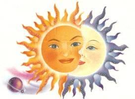 Сочетание Солнца и Луны сопоставляют с двумя популярными драгоценными металлами