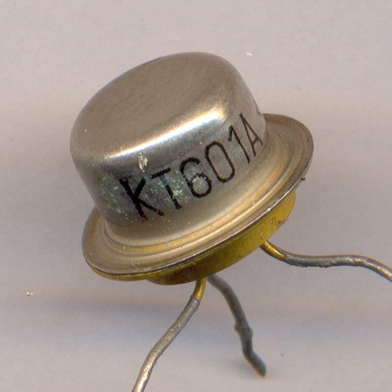 Транзистор КТ содержит в себе драгоценный сплав металла