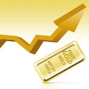 Увеличилась цена на золото