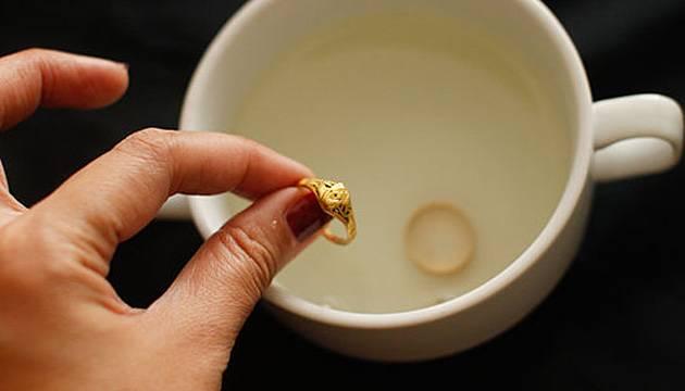 Золотое кольцо чистим