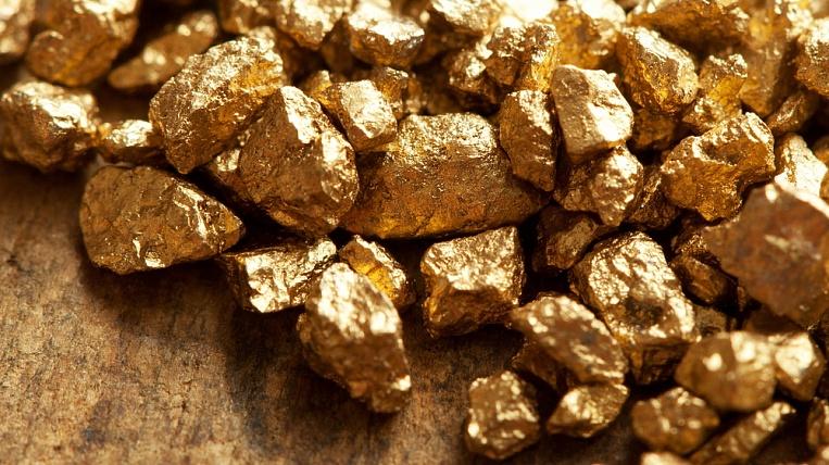 Золото добытое из недр