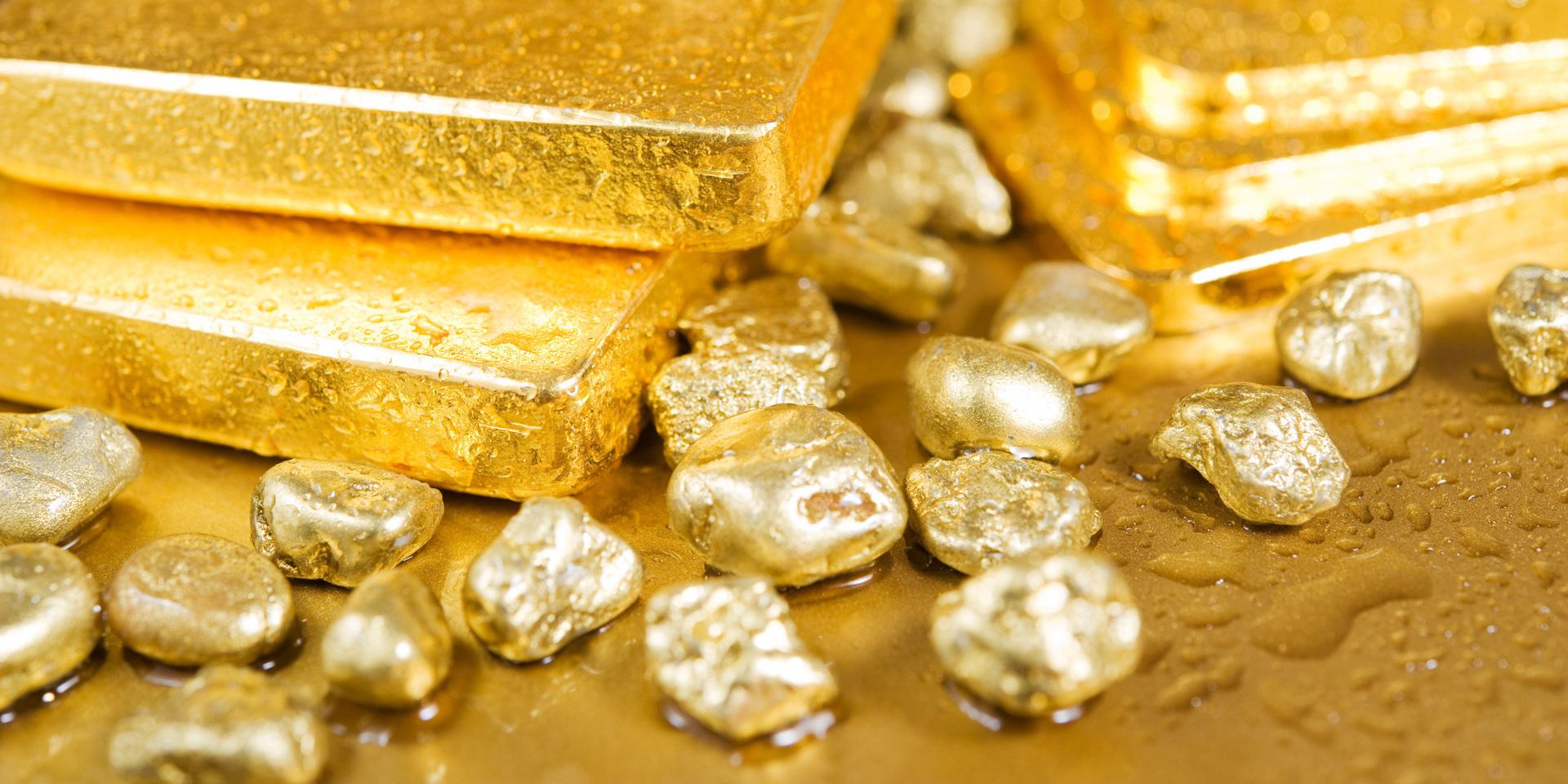 Добыча чистого золота