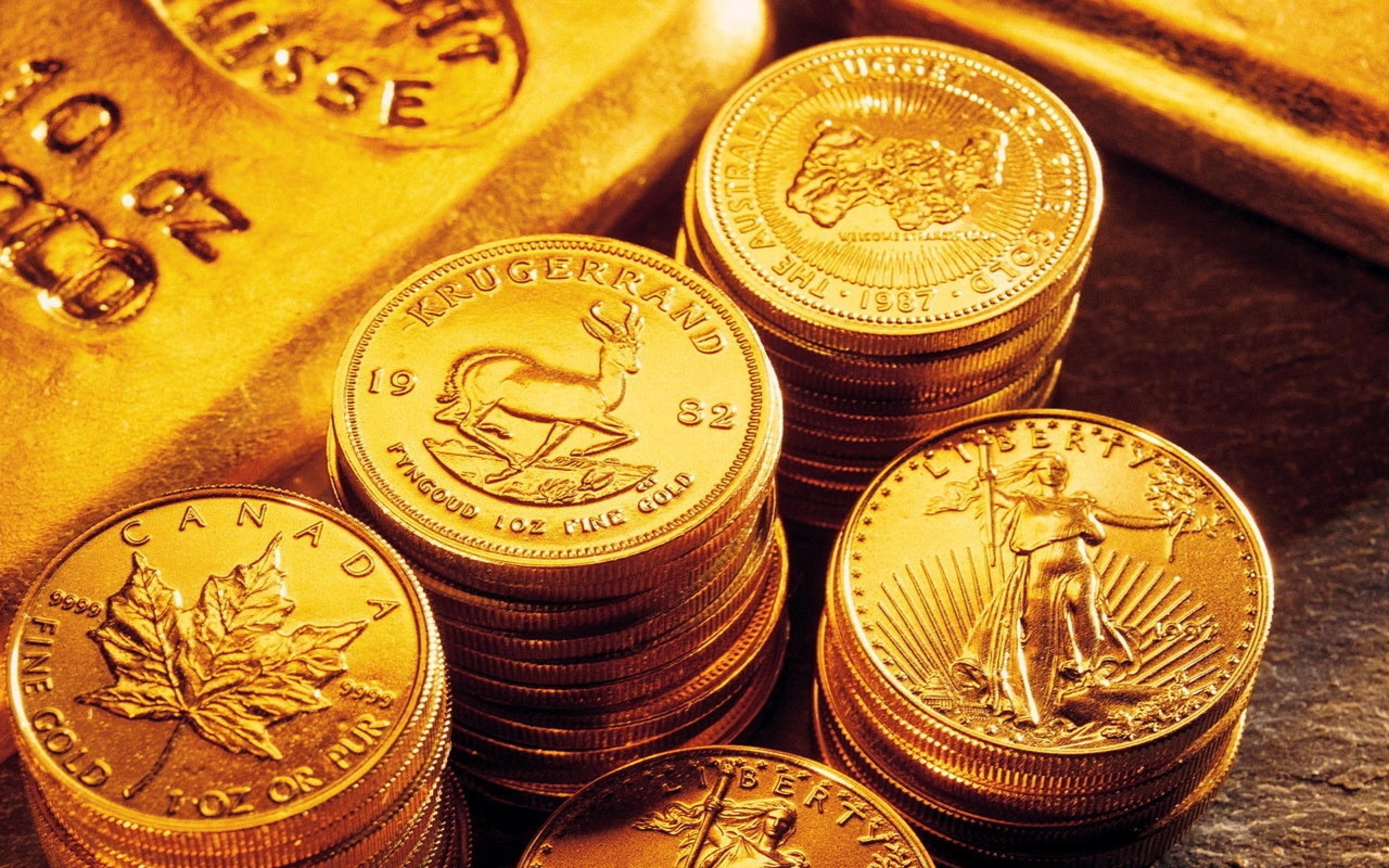Разновидности золотых монет