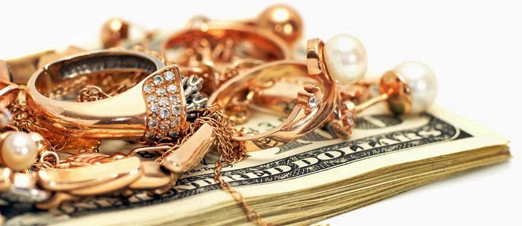 Обмен золота на деньги