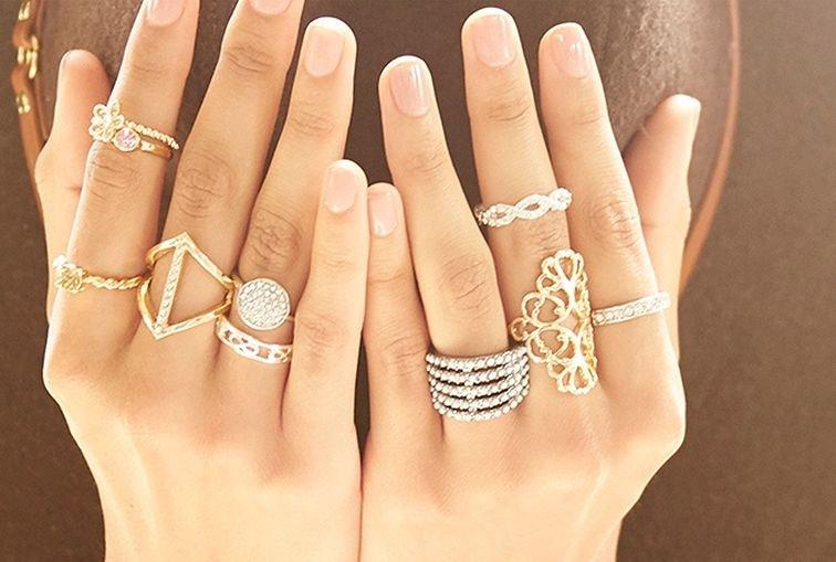 Золотые кольца для женщин