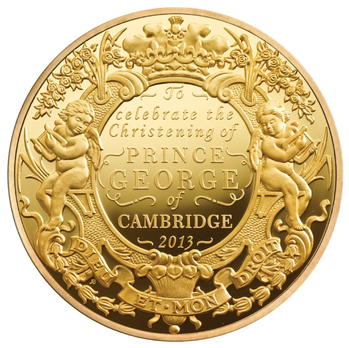 Монета английской чеканки