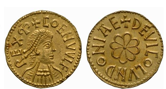 Манкус королевская монета