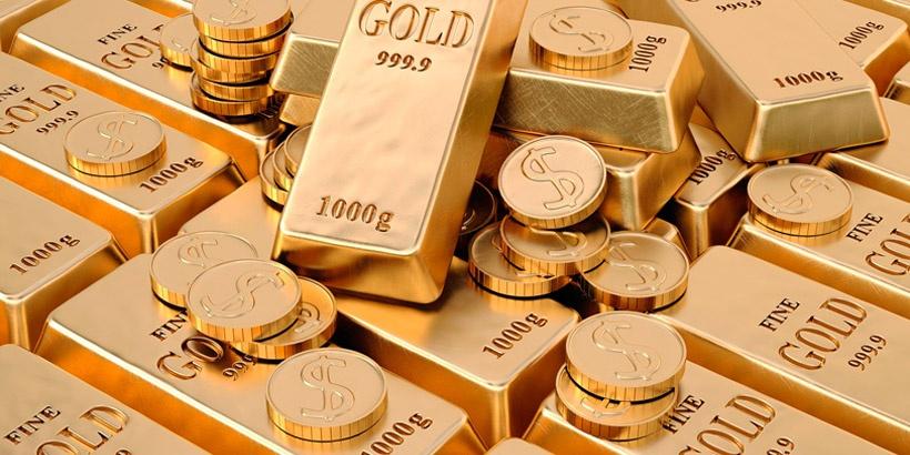 Запас в золоте