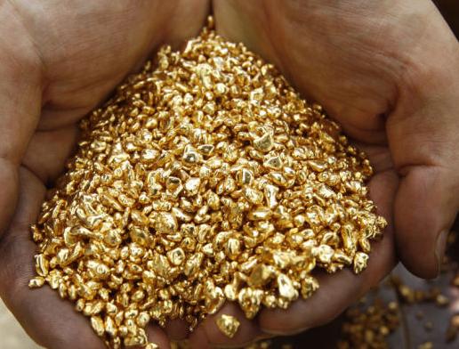 В медицине пользуются особым золотом