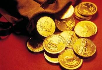 Выгодней всего вкладывать деньги в золотые монеты