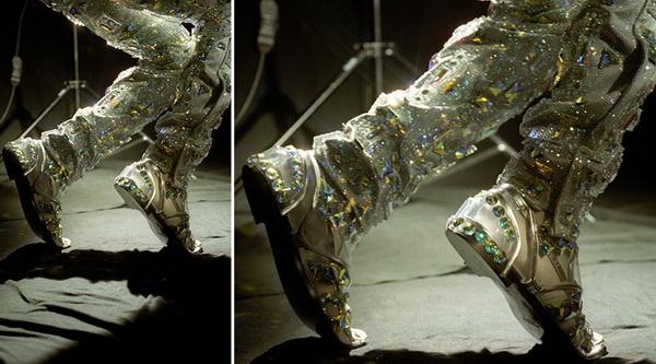 Костюм Майкла Джексона с кристаллами Сваровски