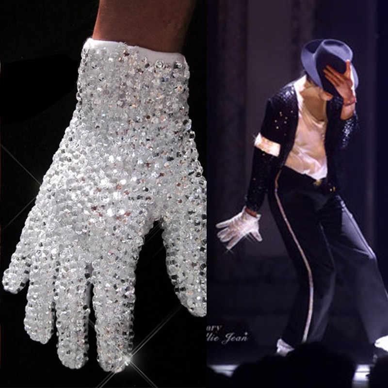 Майкл Джексон белая перчатка Сваровски