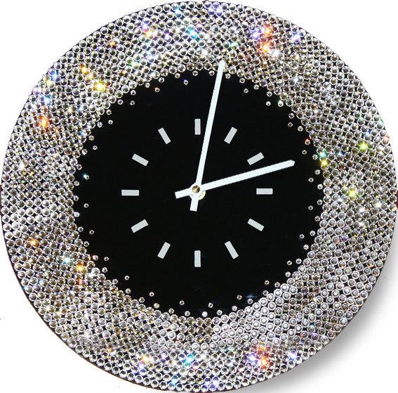 Часы с кристаллами Swarovski