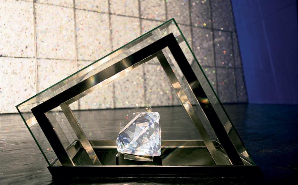 самый большой кристалл Сваровски в 310 тысяч карат