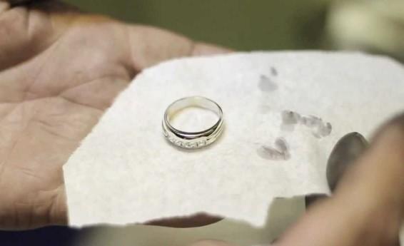 Родированное кольцо