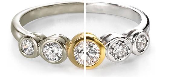 сравнение- родированного кольца