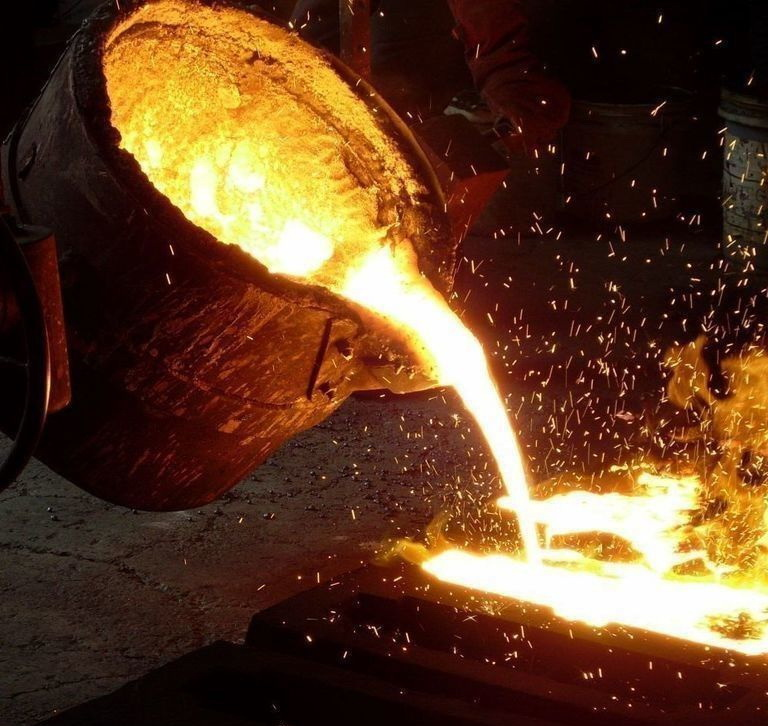 литье марганцовистой стали
