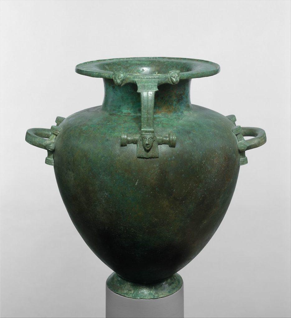 Гидрия бронзовая (кувшин для воды)