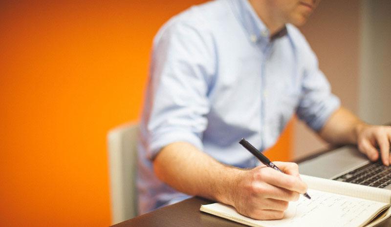 запишите свои бизнес-цели