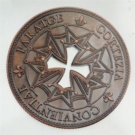 Памятные монеты из бронзы