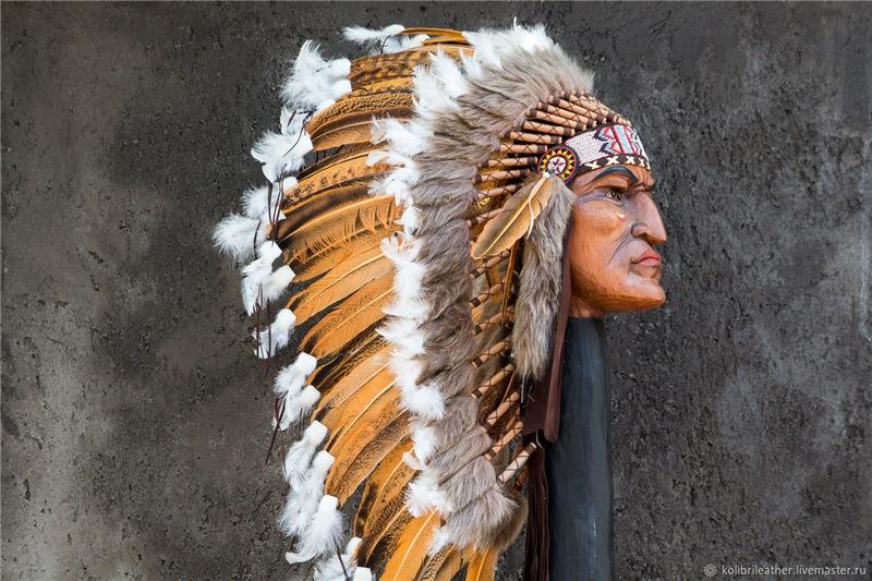 Индейский «военный капор»