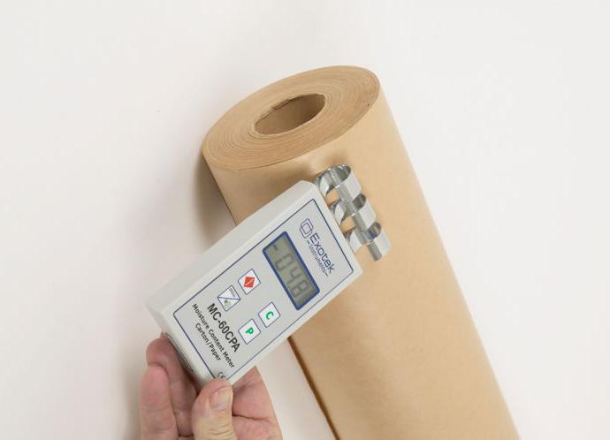 Влажность бумаги