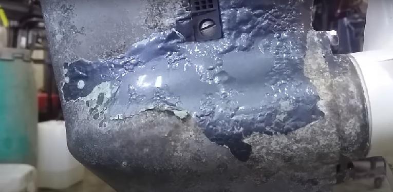 Гальваническая коррозия и покраска лодочного мотора