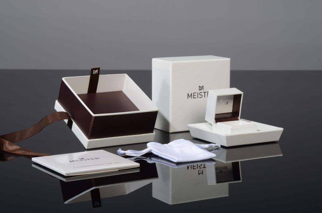 Коробки для упаковки роскошных ювелирных изделий