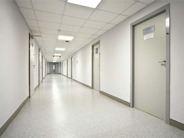 Медицинская дверь в виниловом покрытии