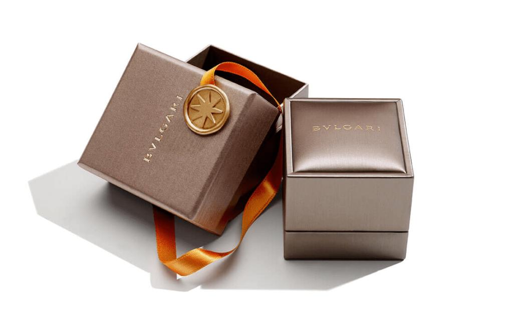 Подарочная коробка для украшений Bulgari
