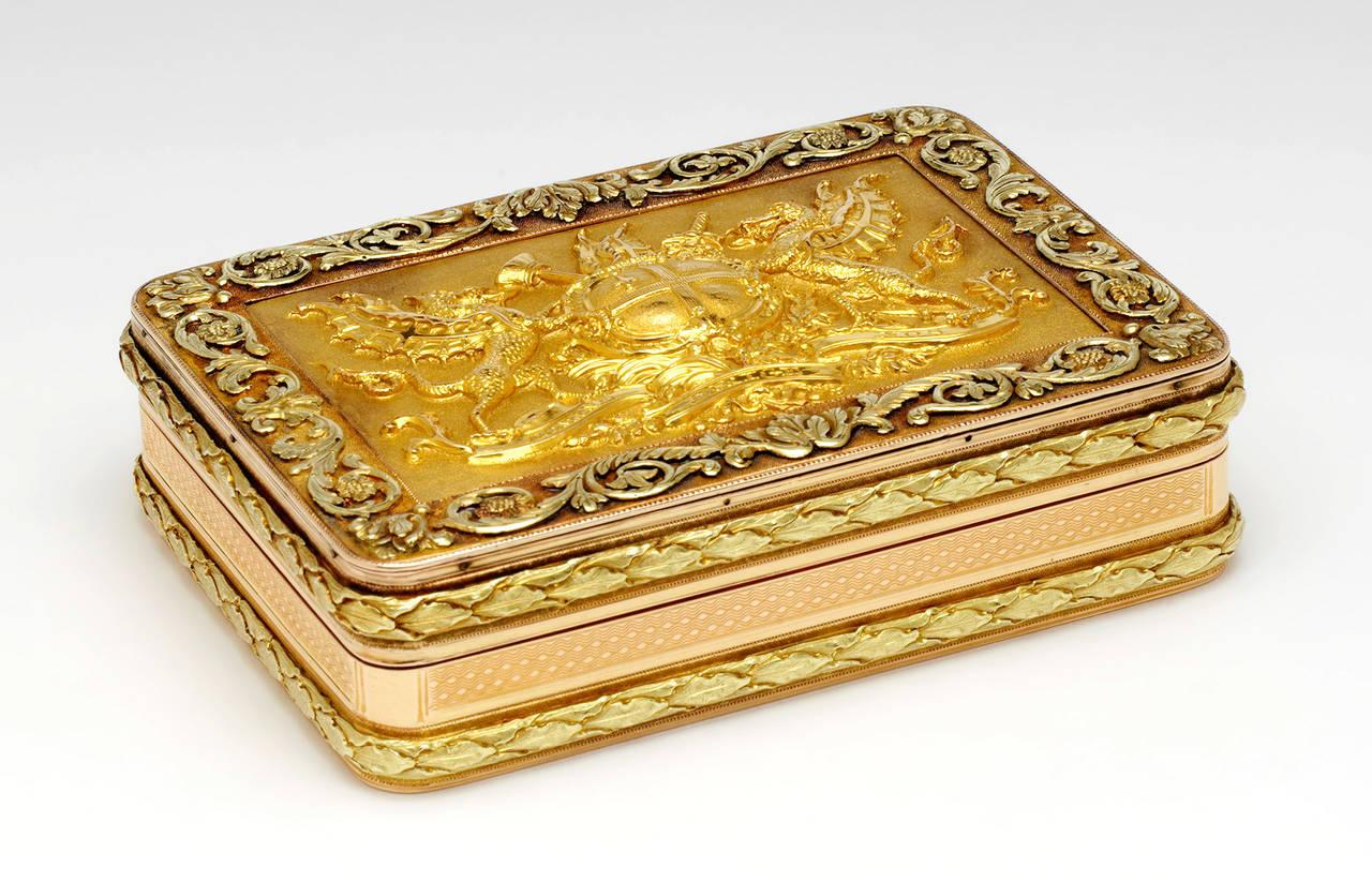 Золотая шкатулка свободы