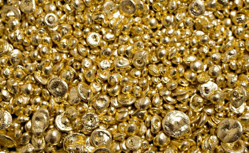 100% золото - мягкое для металла